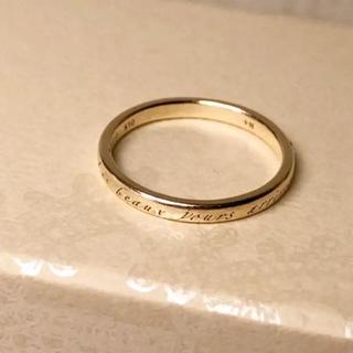 ノジェス(NOJESS)のノジェス  メッセージリング♯3(リング(指輪))