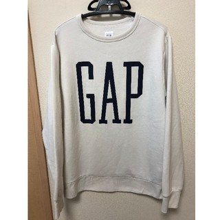 ギャップ(GAP)のGAP トレーナー 白(スウェット)