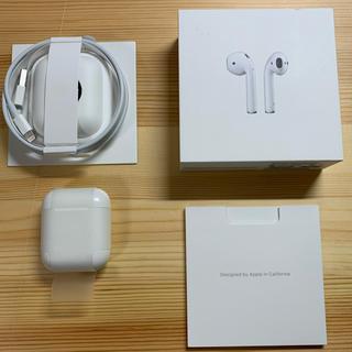 Apple - Apple AirPods(第1世代) MMEF2J おまけ付き