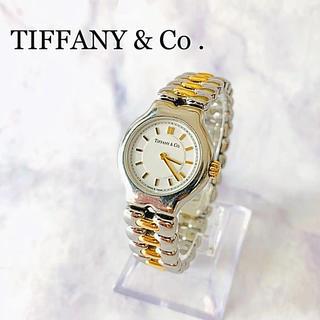 Tiffany & Co. - TIFFANY&Co. TESORO クォーツ時計 K18コンビ・ジャンク品扱い