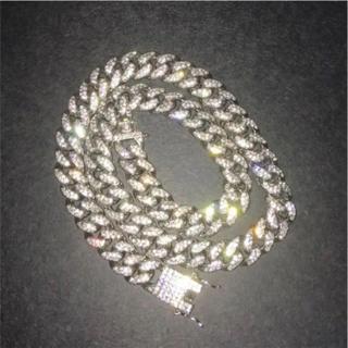 アヴァランチ(AVALANCHE)のマイアミ  キューバリ  シルバーダイヤ(ネックレス)