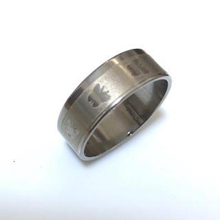 同時購入で300円ステンレス指輪 蝶々点々(リング(指輪))