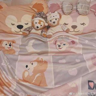 ダッフィー(ダッフィー)の上海ディズニー ブランケット ダッフィ シェリーメイ(毛布)