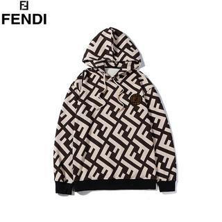 FENDI - [2枚9000円送料込み]FENDIフェンディ 長袖 パーカー男女兼用