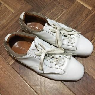 リーガル(REGAL)の【カランコエ様専用】リーガル REGALホワイト 白 25.0 メンズ(スニーカー)