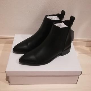 ナチュラルビューティーベーシック(NATURAL BEAUTY BASIC)の未使用・タグ付☆サイドゴアブーツ☆Sサイズ☆ナチュラルビューティーベーシック(ブーツ)