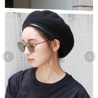 新品 ウールベレー帽
