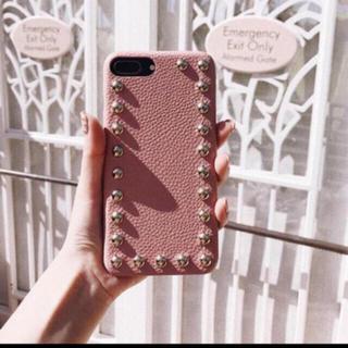 エイミーイストワール(eimy istoire)のdarich レザースタッズiPhoneケース(iPhoneケース)