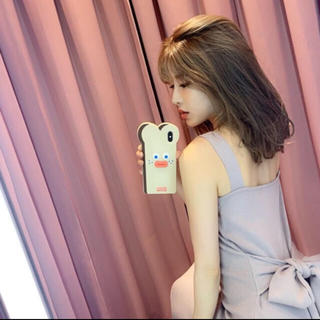 エイミーイストワール(eimy istoire)の韓国 食パン iPhoneXケース(iPhoneケース)