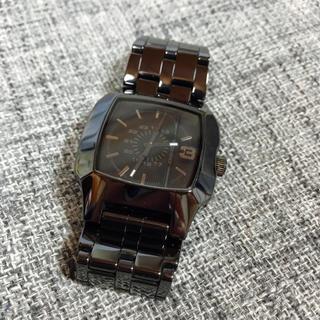 DIESEL - ディーゼル diesel 時計 黒