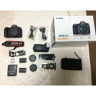 Canon - 【値下げ】Canon EOS6D & BG-E13等