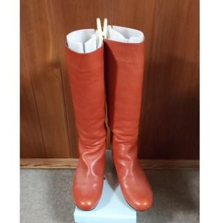 ヒミコ(卑弥呼)の卑弥呼 レザーロングブーツ 23センチ(ブーツ)