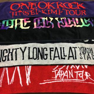 ワンオクロック(ONE OK ROCK)のONE OK ROCK タオル 4枚セット(ミュージシャン)