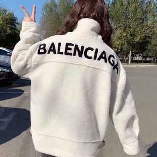 バレンシアガ(Balenciaga)の今年流行  コート バレンシアガ ロング パーカー アウター ボアフリース(パーカー)