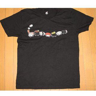 グラニフ(Design Tshirts Store graniph)のグラニフ Tシャツ(寿司トレイン黒 使用品)(Tシャツ/カットソー(半袖/袖なし))