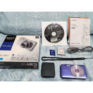 SONY - ◆◆デジタルカメラ◆sony cyber-shot◆DSC-WX7◆ブルー◆◆