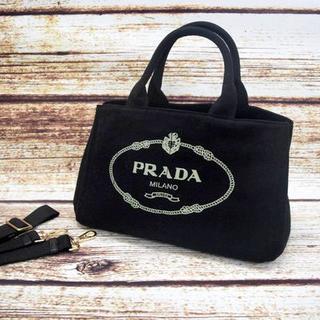 PRADA - プラダ カナパ バッグ ネロブラック