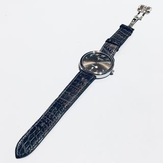 Hermes - エルメス アルソー 定番 美品 時計 グレー