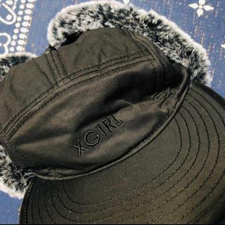 エックスガール(X-girl)の帽子(ハンチング/ベレー帽)