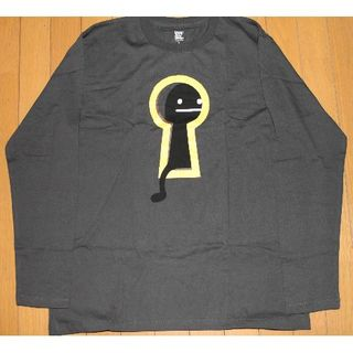 グラニフ(Design Tshirts Store graniph)のグラニフ ロングTシャツ(鍵穴Bシャドウ)(Tシャツ/カットソー(七分/長袖))