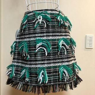 Chesty - 美品♡Chesty グリーン ツイードスカート♡