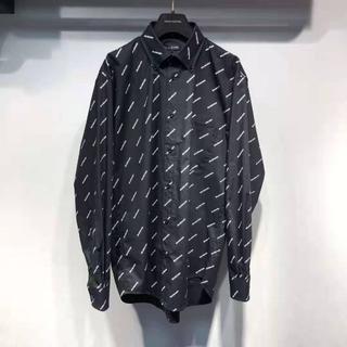 Balenciaga - BALENCIAGA メンズ シャツ ブラック 38
