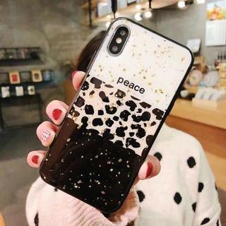 iPhone XR ケース 3層 豹柄 おしゃれ(iPhoneケース)