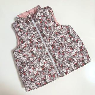 babyGAP - 未使用 baby gap 花柄ベスト♡12〜18m/80cm