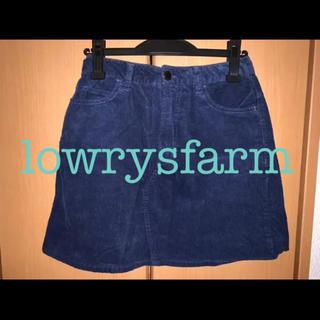 ローリーズファーム(LOWRYS FARM)のローリーズファームのコーデュロイスカート(ミニスカート)