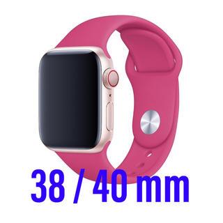 アップルウォッチ(Apple Watch)のApple Watch ベルト スポーツバンド 38 40 ドラゴンフルーツ(腕時計)