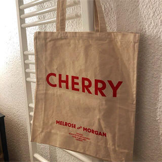 BEAUTY&YOUTH UNITED ARROWS - MELROSE MORGAN CHERRY トートバッグ