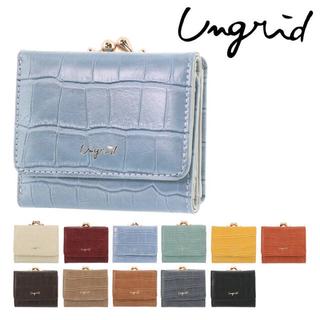 アングリッド(Ungrid)のUngrid 三つ折り財布 グレー レディース 50550(財布)