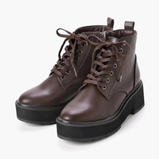 MAJESTIC LEGON - 新品 ブーツ  茶色 M 23.5センチ マジェスティックレゴン 大幅お値下げ