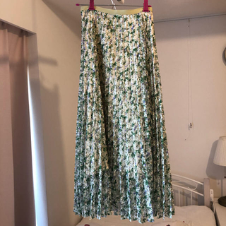 FRAY I.D - FRAY.ID♡レースプリントプリーツスカート