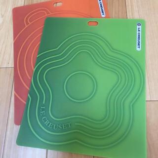 ルクルーゼ(LE CREUSET)のル・クルーゼ まな板2枚組  新品未使用(調理道具/製菓道具)