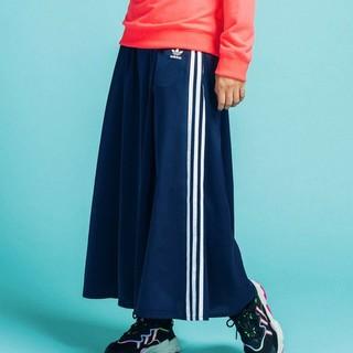 adidas - adidas ロング サテン スカート アディダスオリジナルス