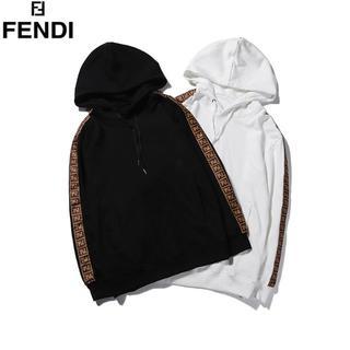 FENDI - 2枚9000円送料込み★FENDI★長袖パーカー2色ユニセックス男女兼用★