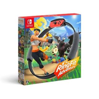ニンテンドースイッチ(Nintendo Switch)の任天堂スイッチ リングフィットアドベンチャー SWITCH(家庭用ゲームソフト)