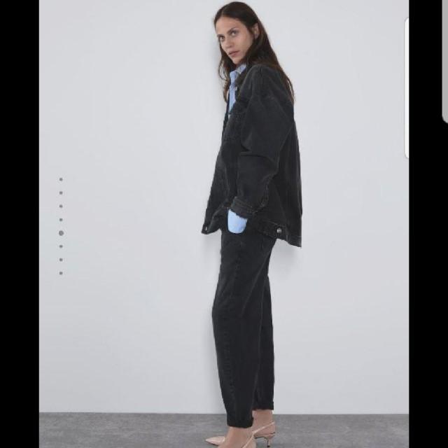 ZARA(ザラ)のZARA オーバーサイズ ジージャン コーデュロイジャケット レディースのジャケット/アウター(Gジャン/デニムジャケット)の商品写真
