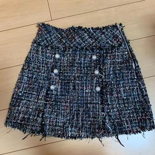 ザラ(ZARA)のzara スカート(ミニスカート)