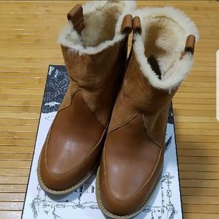 ジャーナルスタンダード(JOURNAL STANDARD)のT-ROUPE   ムートンシープスキン ショートブーツ(ブーツ)