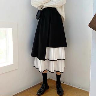 コムデギャルソン(COMME des GARCONS)のコムデギャルソン ジュンヤワタナベ プリーツスカート(ロングスカート)