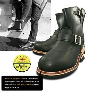 新品送料無料♪59%off♪本格ショートエンジニアブーツ☆25cm(ブーツ)