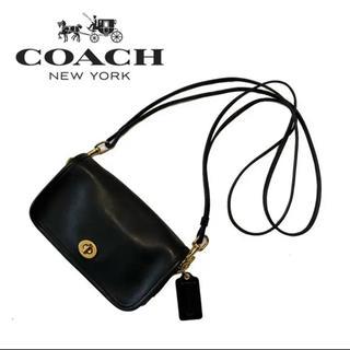 COACH - coach コーチ ショルダーバッグ  本革 レザー ターンロック オールド