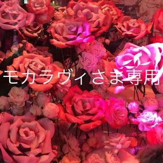 ANNA SUI - 新品☆アナスイ タオルハンカチ ドットローズ ブルー