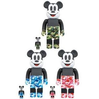 BE@RBRICK BAPE® MICKEY MOUSE 100% 400%(その他)