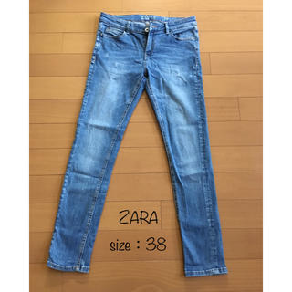 ZARA - ZARA デニム ローライズスキニー size 38(EUR)