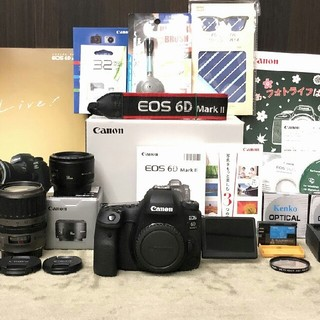 Canon - Canon EOS 6D Mark II 純正ズームレンズ2本と 単焦点