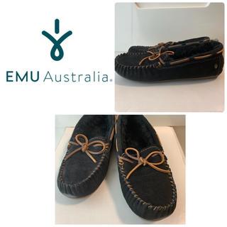 EMU - emu   アミティ  ブラック モカシン