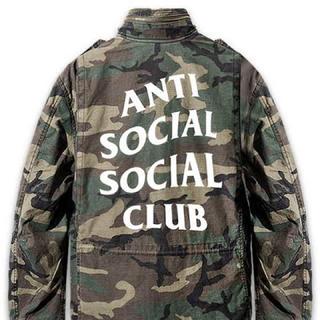 アンチ(ANTI)のANTI SOCIAL SOCIAL CLUB ディフェンダージャケット (ナイロンジャケット)